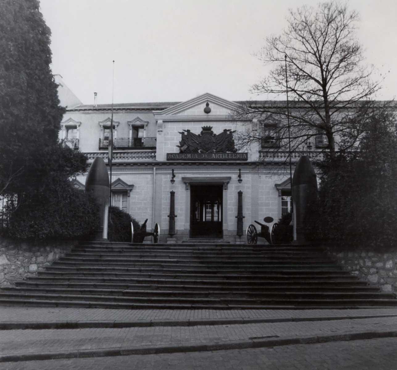 32.- Academia de Artilleria, Biblioteca. Fotos Acart varios