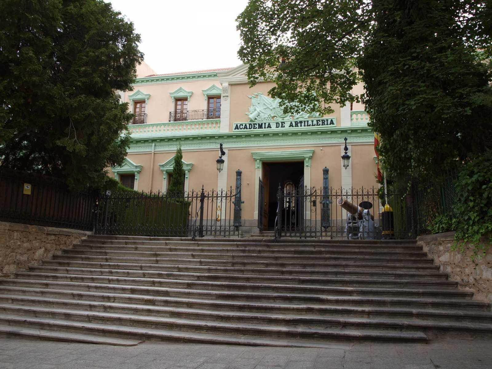 34.- Academia de Artilleria, Biblioteca. D. Angel Sanz Andres