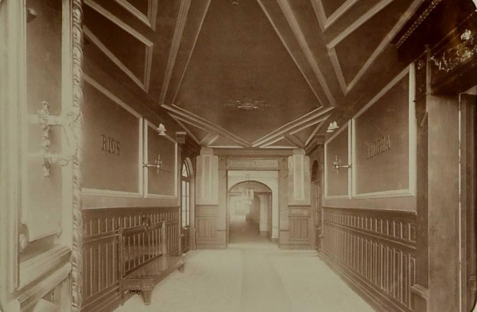 Entrada de Día Sanz, 1897.
