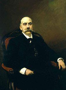 Emilio Castelar Ripoll por Joaquín Sorolla y Bastida (1901)Emilio Castelar Ripoll por Joaquín Sorolla y Bastida (1901)