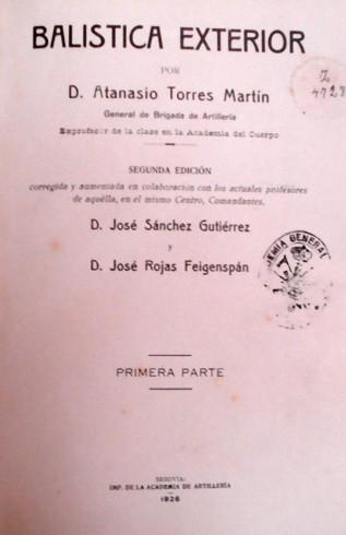 Torres Martín - Balística Exterior