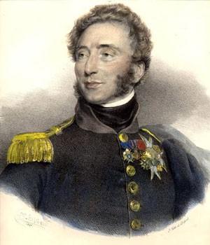 El duque de Angulema. Comandante en Jefe de los Cien Mil Hijos de San Luis