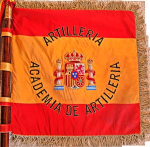 Estandarte de la Academia de Artillería