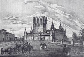 Alcázar de Segovia y cadetes