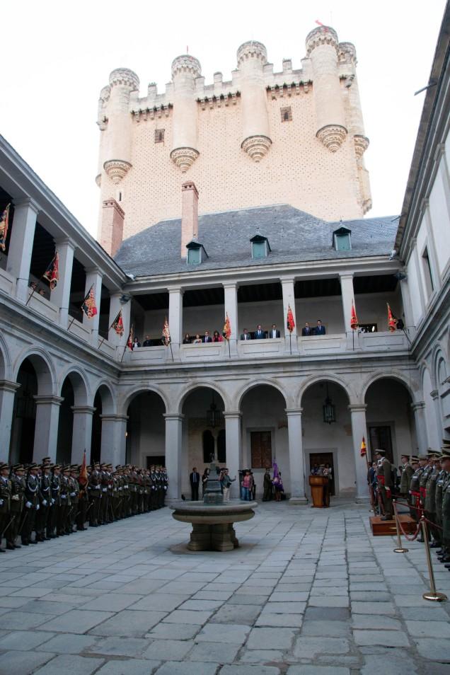 Acto inaguración del Curso 2013 - 2014 en el Alcázar de Segovia
