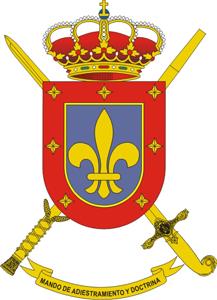 Escudo del Mando de Adiestramiento y Doctrina