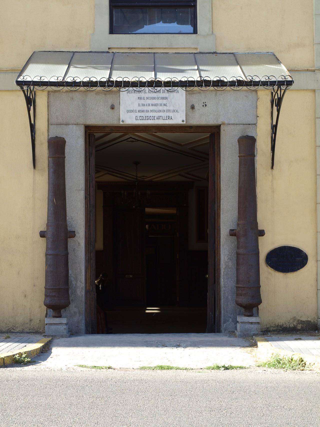 Puerta de Día Sanz, 2011. 19.- ACADEMIA DE ARTILLERÍA, BIBLIOTECA. La ACART en 2011 (fotografía realizada por D. Ángel Sanz Andrés).