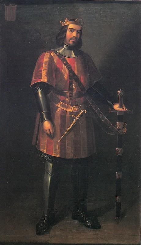 Retrato de Fernando I, el de Antequera