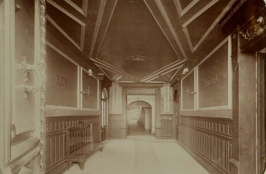 Entrada de Día Sanz, 1897