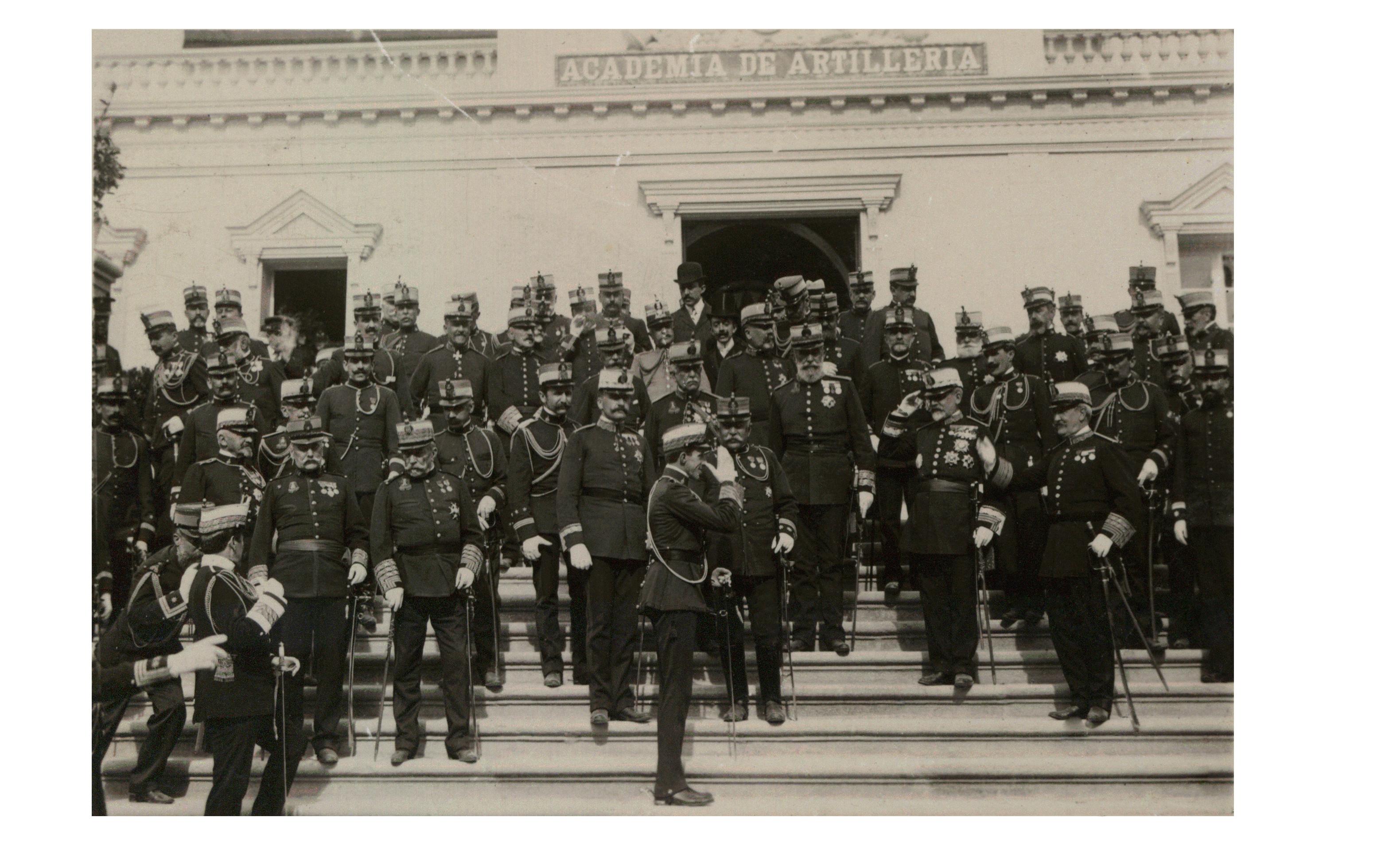 Fachada de San Francisco, 6 de mayo de 1908.