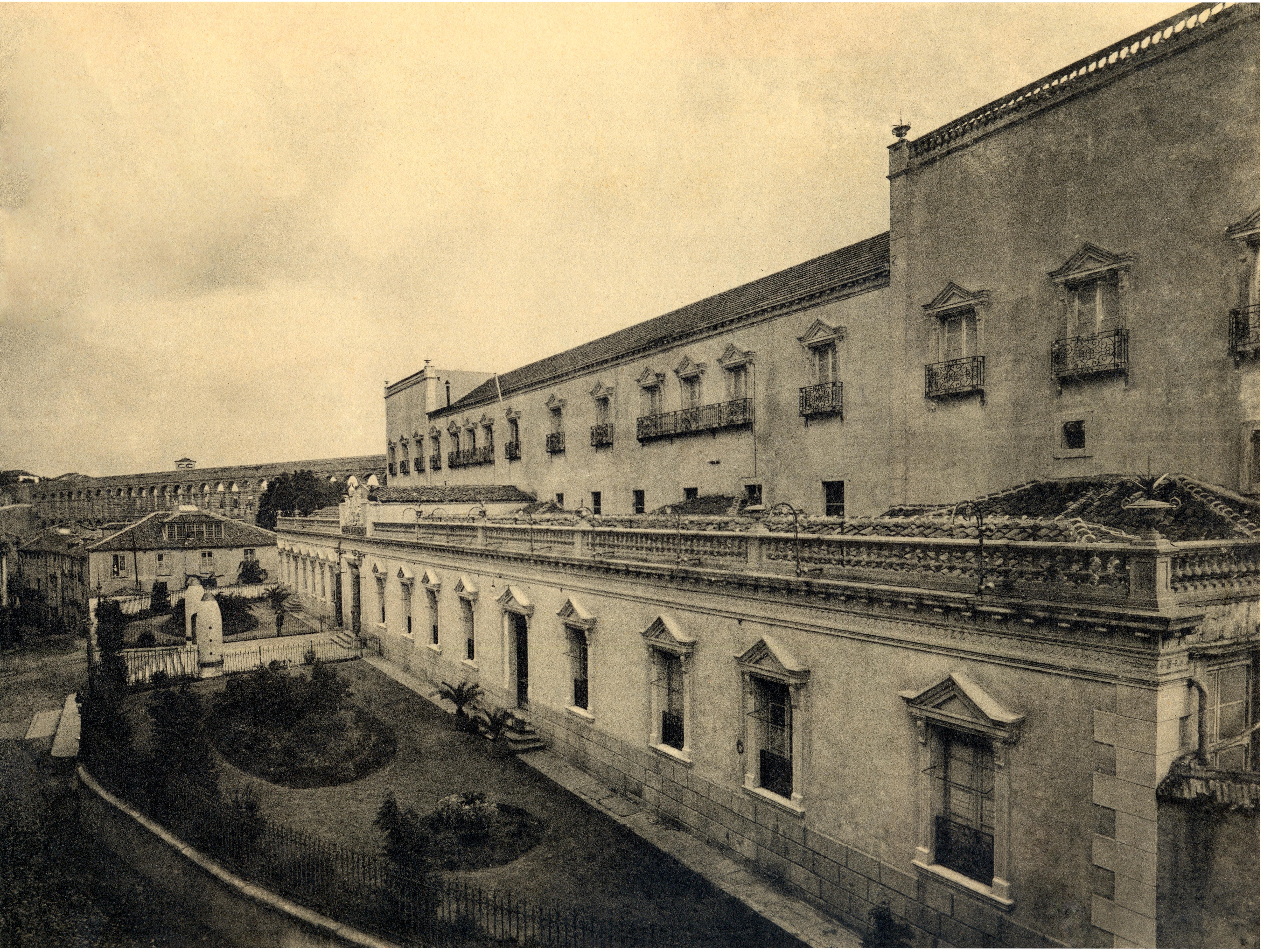 Fachada de San Francisco, 1920.