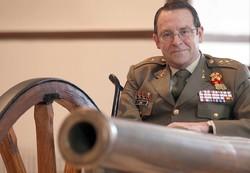 Diego de Miguel /ICAL - Alfredo Sanz y Calabria, general director de la Academia de Artillería de Segovia