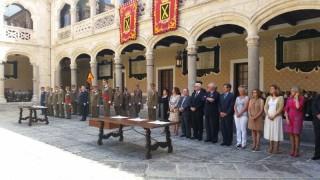 Acto de despedida de los alumnos de la Academia de Artillería