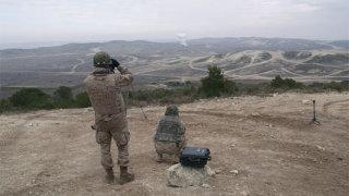 Alumnos de Artillería se adiestran en el ejercicio ''Carmesí'' en ''San Gregorio''