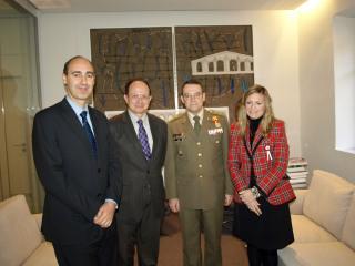IE University y la Academia de Artillería estrechan sus lazos de colaboración