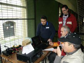Emisión de la Unión de Radioaficionados de Segovia desde la ACART 1