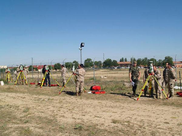 Jornadas de Actualización de Topografía en la Academia de Artillería