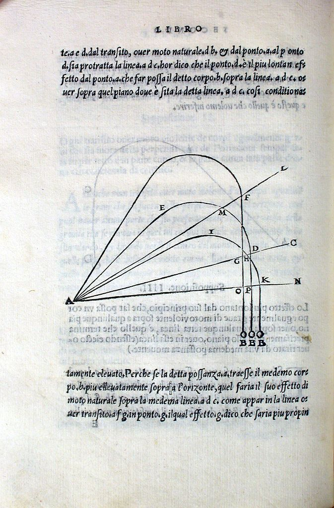 Nova Scientia, 1537