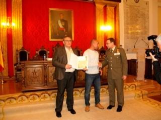 Entrega diploma Premios Ejército 2015 modalidad regional