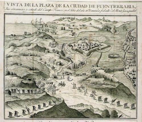 fortaleza de Fuenterrabía